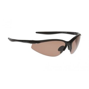 Ugly Fish PT6675 Sports Polarised Sunglasses - Black Frame/Brown Lens