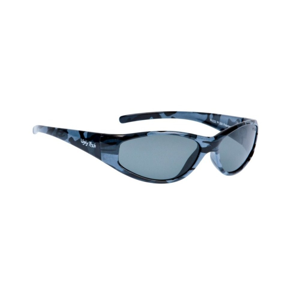4fc69f3b9234 Ugly Fish PK232 Casual Junior Polarised Sunglasses - Camo Frame/Smoke Lens